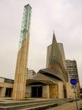Iglesia moderna Zagreb Croatia del estilo de Zupa-kazotic Fotografía de archivo