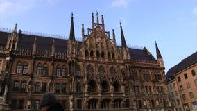 Iglesia Munich de la mujer almacen de metraje de vídeo