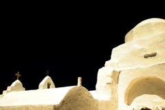 Iglesia Mykonos imagen de archivo libre de regalías