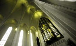 Iglesia nórdica Fotografía de archivo