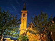 Iglesia Naaldwijk Países Bajos foto de archivo libre de regalías