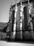Iglesia negra fotografía de archivo