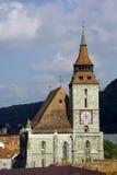 Iglesia negra en Brasov, Rumania Foto de archivo