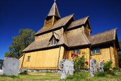 Iglesia noruega del bastón Imagen de archivo libre de regalías