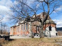 Iglesia ortodoxa abandonada Foto de archivo libre de regalías