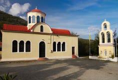 Iglesia ortodoxa Creta Grecia Imagen de archivo libre de regalías