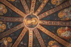 Iglesia ortodoxa de Chora en Estambul. Fotos de archivo