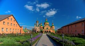 Iglesia ortodoxa de Kyiv Foto de archivo libre de regalías