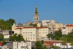 Iglesia ortodoxa de la catedral Fotos de archivo