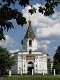 Iglesia ortodoxa de la ciudad Imagenes de archivo