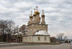 Iglesia ortodoxa de la transfiguración Ciudad de Ryazan, Rusia Foto de archivo libre de regalías