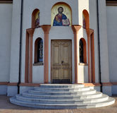 Iglesia ortodoxa de los Ilia del St, Serbia, Vojvodina, Novi Sad imagenes de archivo