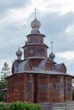 Iglesia ortodoxa de madera tradicional, Suzdal, Rusia Fotos de archivo