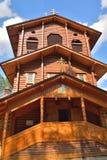 Iglesia ortodoxa del icono de Kazán de la madre de dios en el VI foto de archivo