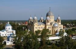 Iglesia ortodoxa del monasterio Fotos de archivo libres de regalías