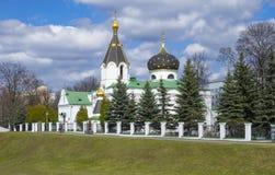 Iglesia ortodoxa del santo Mary Magdalene igual a los apóstoles Imagen de archivo