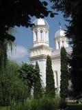 Iglesia ortodoxa en Brasov Rumania fotos de archivo libres de regalías
