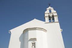 Iglesia ortodoxa en Corfú Foto de archivo libre de regalías