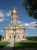 Iglesia ortodoxa en el área de Moscú Imágenes de archivo libres de regalías