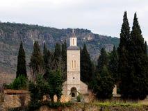 Iglesia ortodoxa en el pueblo Zitomislic Imagen de archivo libre de regalías