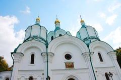 Iglesia ortodoxa en el santo Fotografía de archivo