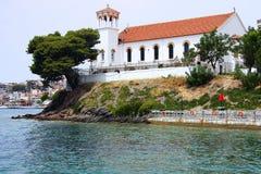 Iglesia ortodoxa en Grecia Imagen de archivo libre de regalías