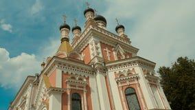 Iglesia ortodoxa en Grodno, Bielorrusia El templo es un lugar del rel Fotos de archivo libres de regalías