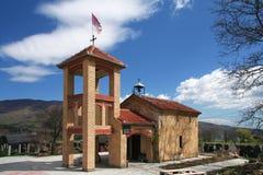 Iglesia ortodoxa, iglesia en Kosovo imágenes de archivo libres de regalías