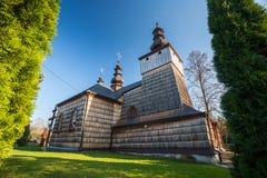 Iglesia ortodoxa en Losie, Polonia Imágenes de archivo libres de regalías