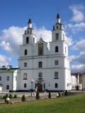 Iglesia ortodoxa en Minsk Imagenes de archivo