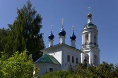 Iglesia ortodoxa en Ples, Rusia Fotografía de archivo