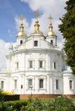 Iglesia ortodoxa en Poltava Imagenes de archivo