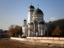 Iglesia ortodoxa en Rumania Foto de archivo libre de regalías