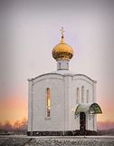 Iglesia ortodoxa en Rusia Imagen de archivo libre de regalías