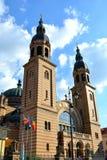 Iglesia ortodoxa en Sibiu, capital europea de la cultura por el año 2007 Imagen de archivo libre de regalías