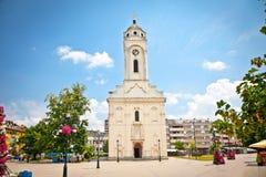 Iglesia ortodoxa en Smederevo, Serbia foto de archivo libre de regalías