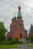 Iglesia ortodoxa en Tampere Fotografía de archivo