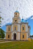 Iglesia ortodoxa en un monasterio Foto de archivo
