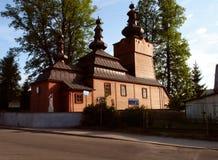 Iglesia ortodoxa en Wysowa 3 Fotos de archivo libres de regalías