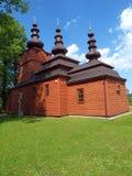 Iglesia ortodoxa en Wysowa 2 Fotos de archivo libres de regalías