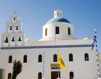 Iglesia ortodoxa griega Fotografía de archivo libre de regalías
