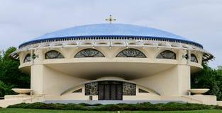 Iglesia ortodoxa griega del anuncio fotos de archivo libres de regalías