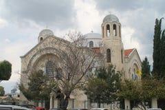 Iglesia ortodoxa griega en Limassol, Chipre imágenes de archivo libres de regalías