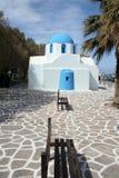Iglesia ortodoxa griega - Paros imagen de archivo libre de regalías