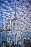 Iglesia ortodoxa HDR Fotos de archivo