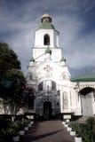 Iglesia ortodoxa Kyiv, bóveda, cúpulas, Kiev-Pechersk Lavra Foto de archivo