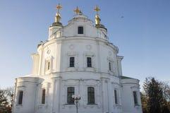 Iglesia ortodoxa magnífica en Ucrania Foto de archivo