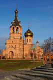 Iglesia ortodoxa rusa Fotografía de archivo libre de regalías