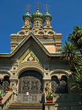 Iglesia ortodoxa rusa de la natividad 04 Fotos de archivo
