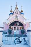 Iglesia ortodoxa ucraniana Sobor Svyato-Voskresenski Imagen de archivo libre de regalías